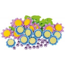 BREWIS art. kreatywny z pianki kwiatki a'48 PVC16